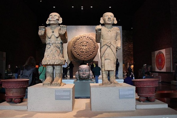 Image of National Museum of Anthropology, which is the largest and most visited places in mexico.